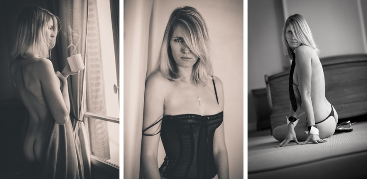 Séance boudoir photo shooting photographe paris