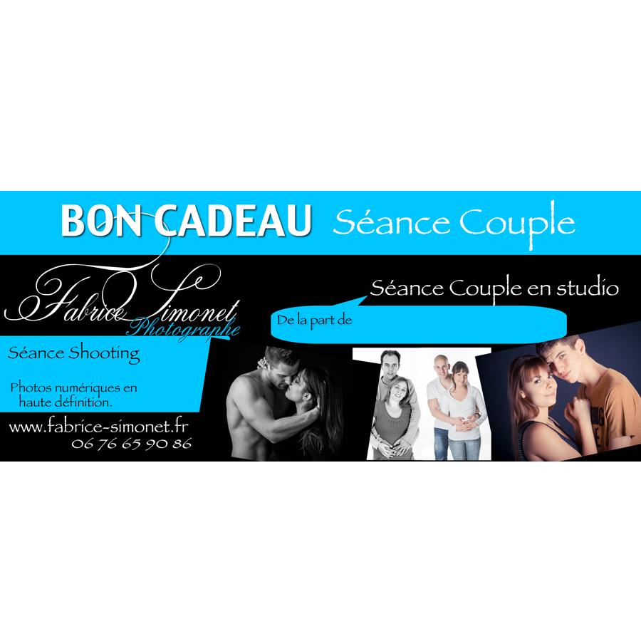 Bon Cadeau Studio couple Fabrice Simonet PHOTOGRAPHE